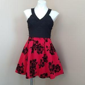 Crystal Doll mini princess formal party dress sz 1